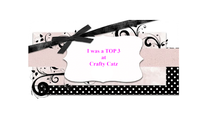 Top 3 at Crafty Catz Challenge Blog