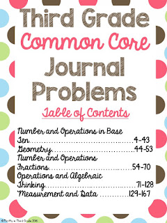 https://www.teacherspayteachers.com/Product/3rd-Grade-Common-Core-Journal-Problems-1308056