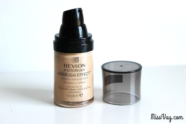 Revlon maquillage Fond de teint Airbrush Effect été 2016