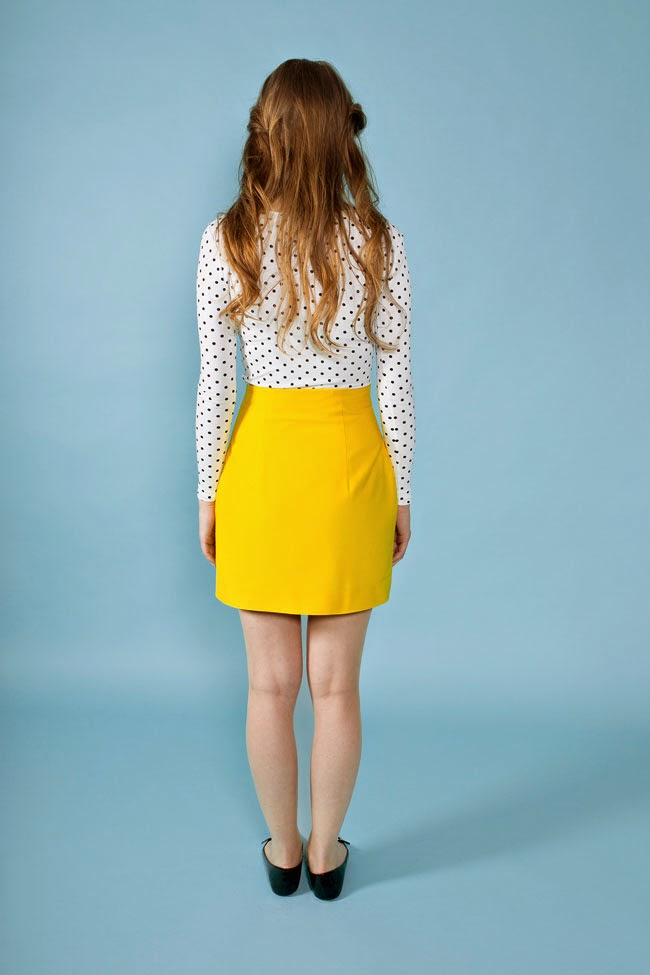Arielle skirt - easy sewing pattern