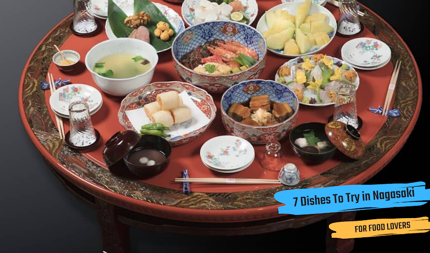 7 DISHES TO TRY IN NAGASAKI⠀⠀