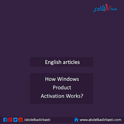 How Windows Product Activation Works