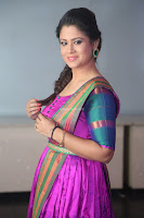 Shilpa Chakravarthy in Purple tight Ethnic Dress ~  Exclusive Celebrities Galleries 067.JPG