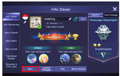 Cara Main 2 Akun Mobile Legends di 1 HP Android/iOS 100% Work