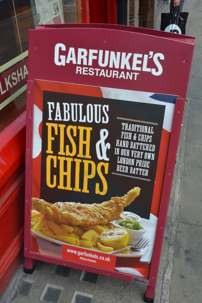 Garfunkels Restaurant London