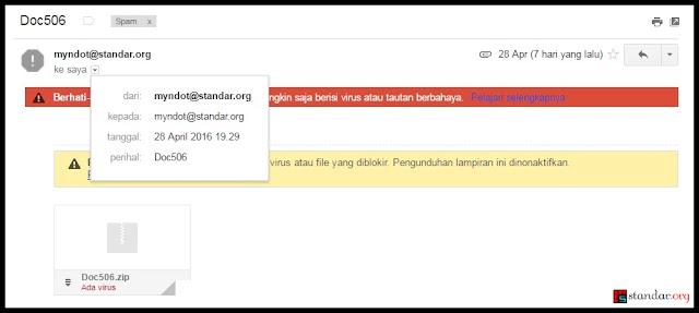 Spoofing Email, Email yang Seolah-olah Berasal dari Anda-2