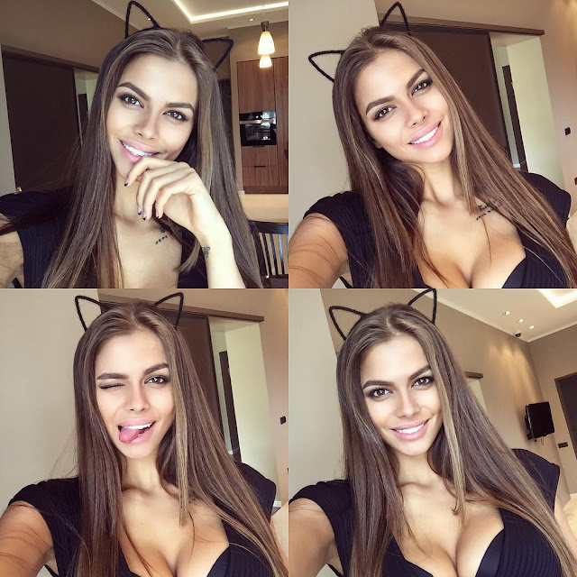 Watch Viki Odintcova Cute Selfie