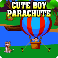 Avm Cute Boy Parachute Escape