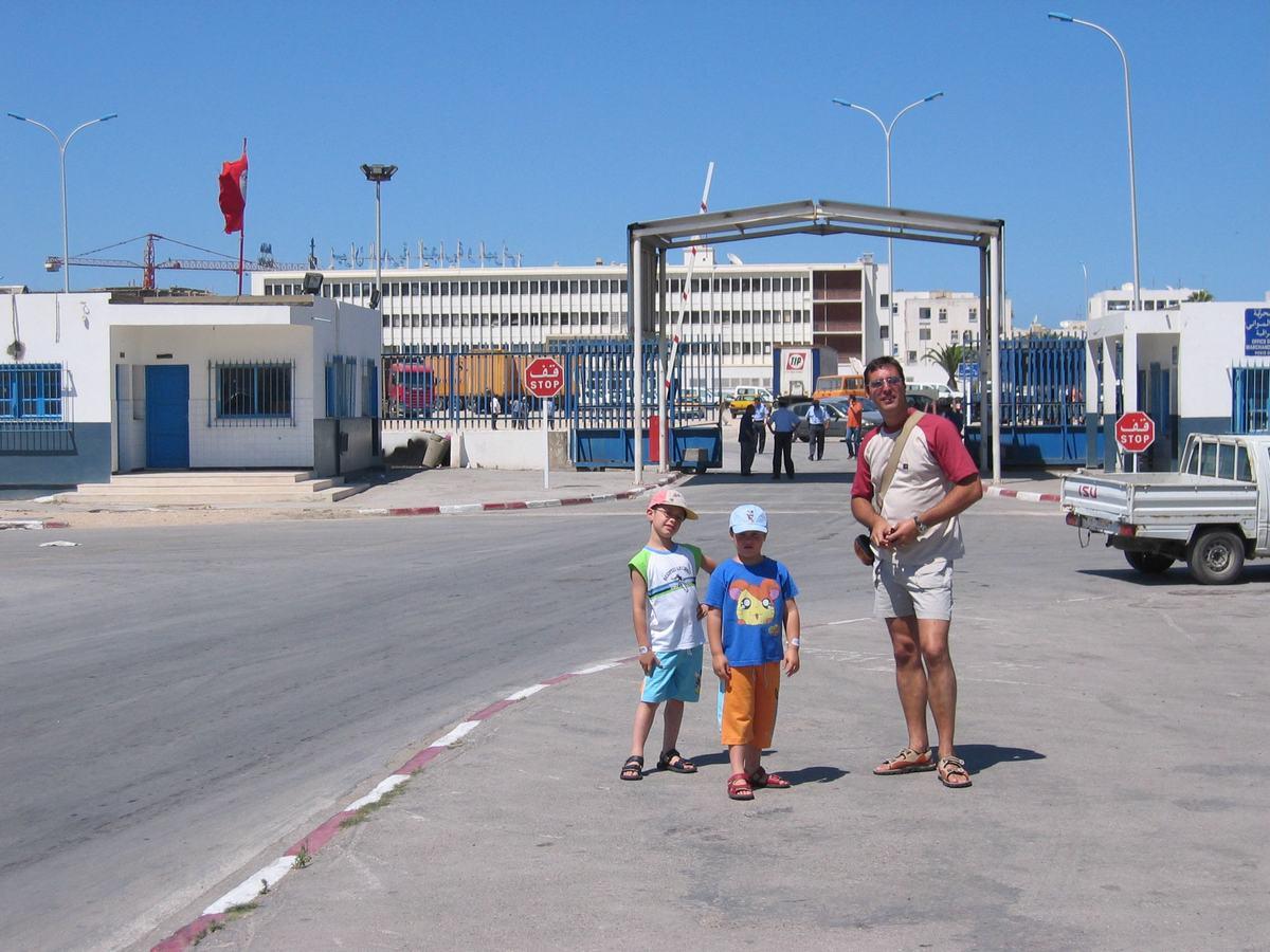 puerto de desembarque en túnez, cruceros tunez