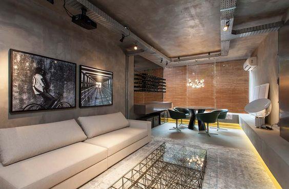 Decora o em estilo industrial ambientes cheios de for Casas de estilo industrial