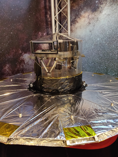 Gaia Satellite model Royal Society Summer Science Exhibition