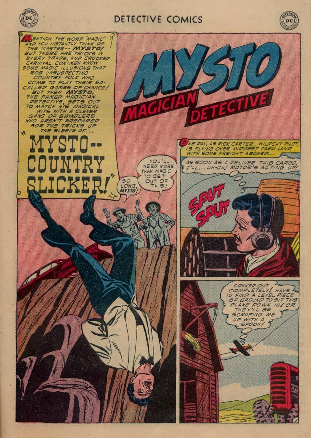 Read online Detective Comics (1937) comic -  Issue #212 - 20