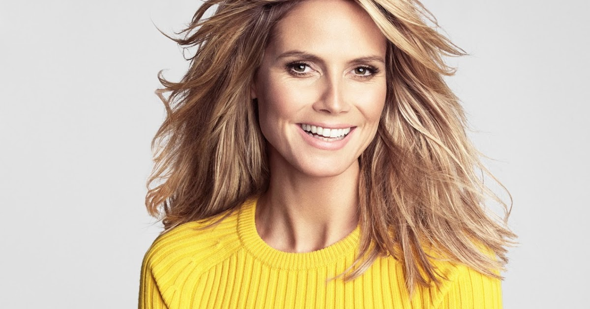 Heidi Klum: Heidi Klum: Heidi Klum Tesh Photoshoot For Marie Claire US