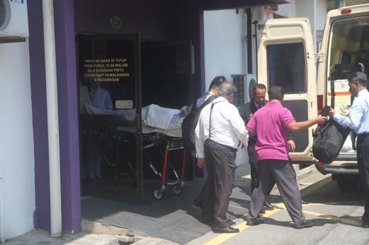Menteri Besar Kedah Dipindahkan Ke Hospital Pulau Pinang