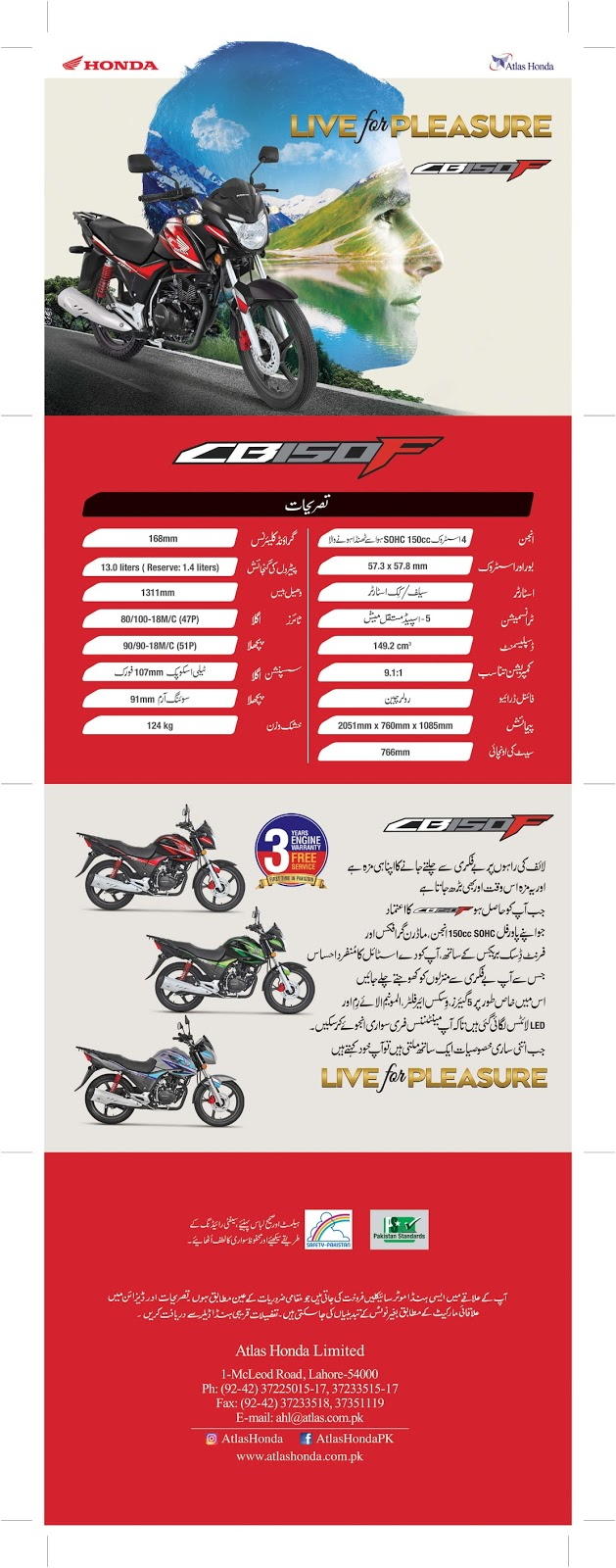 Atlas Honda CB 150F