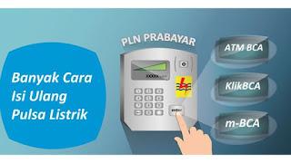 Cara Isi Pulsa Token Listrik PLN Prabayar lewat SMS Telegram Whatsapp KHPulsa