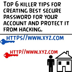 Top 6 killer tips for creating best security password