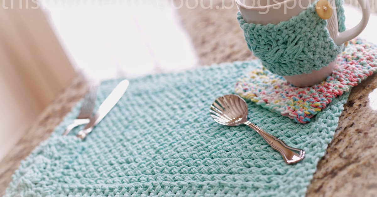 Free Loom Knit Kitchen Set Pattern Loom Knitting By This Moment Is