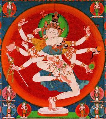 西藏唐卡 男女雙修02a