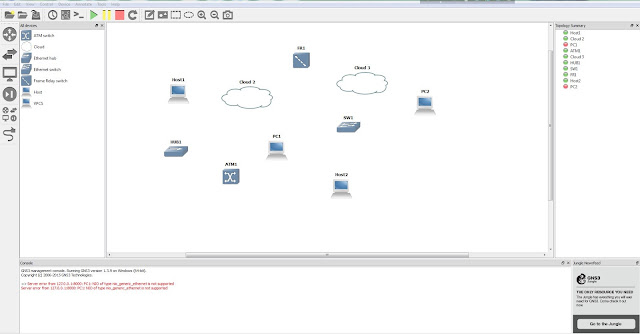 Free download Network simulation tool GNS3 for windows