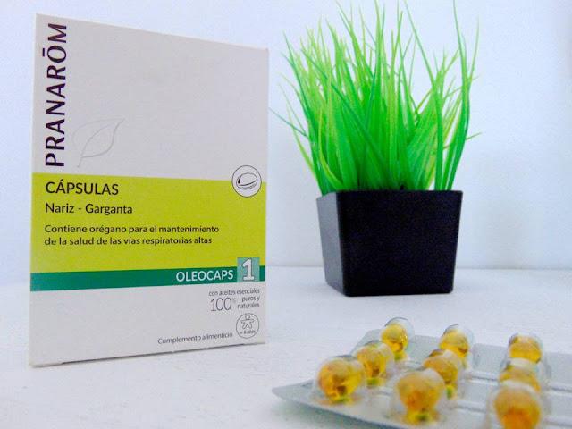 OLEOCAPS 1 cápsulas nariz-garganta