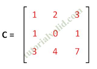 Matriks C 3x3