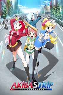 detail dan nonton trailer Anime Akiba's Trip The Animation (2017)