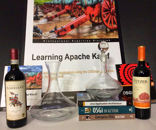 I code by the sea.: Double Decanter Day!
