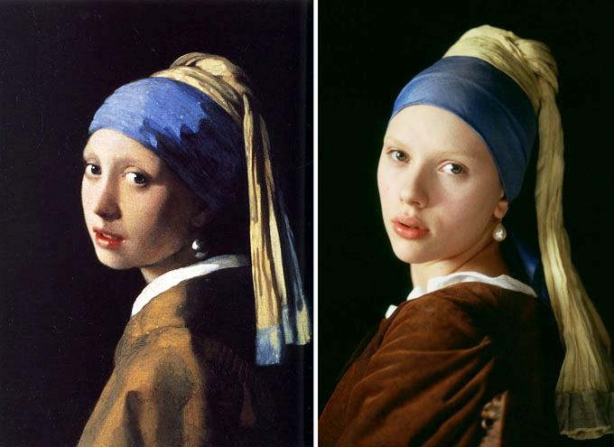 Resultado de imagem para Jan Vermeer (1632/1675) - Garota com brinco de pérola
