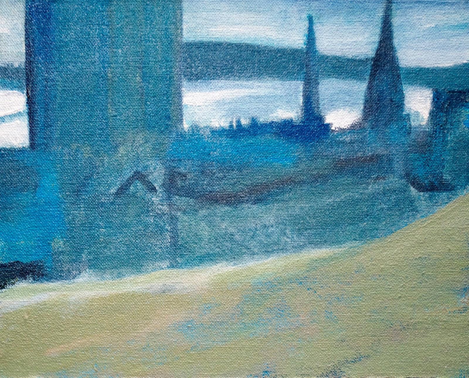 Brian Sloan, artist, painting, art, acrylic paint, Halifax Eastern Sky