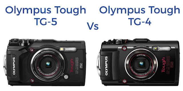 Olympus TG-5 vs TG-4 Comparison