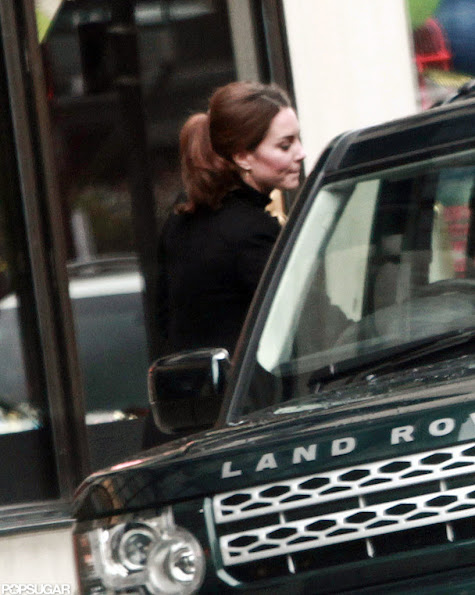 Catherine Duchess of Cambridge Kate Middleton, shopping at Harvey Nichols, Beauty Bazaar, Harvey Nichols' store