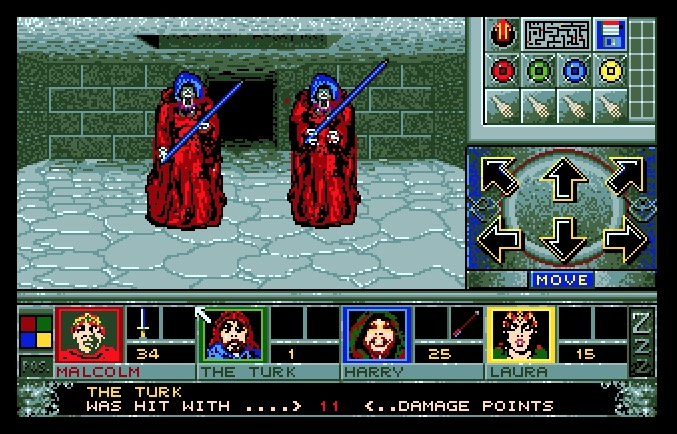 AtariCrypt: Walls Of Illusion