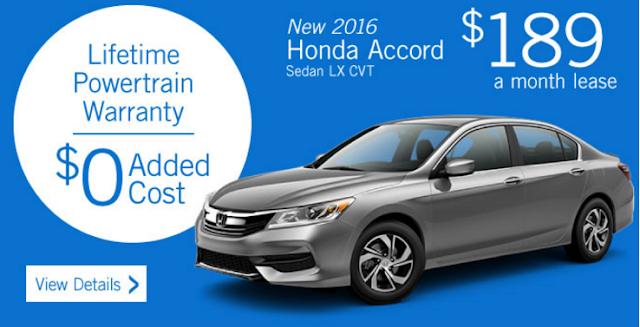 New 2016 Honda CR - V 2WD CVT LX