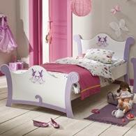 diseño dormitorio rosa lila