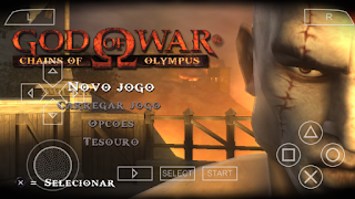 finalmente saiu! god of war chains of olympus para celular android (ppsspp)