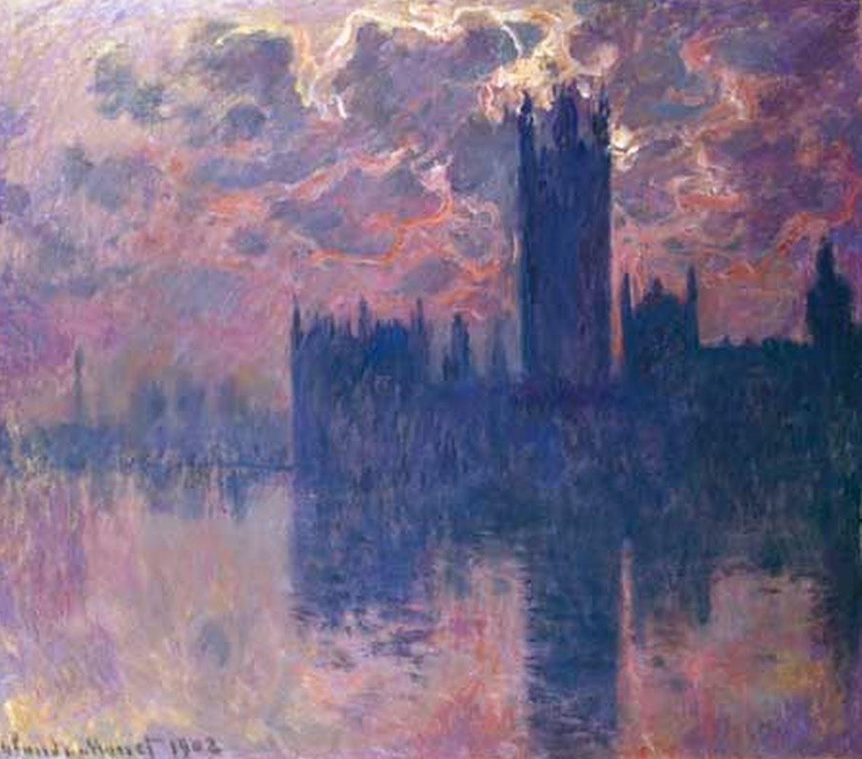 Claude Monet | The Houses of Parliament, 1900-1905 | Painting series ...