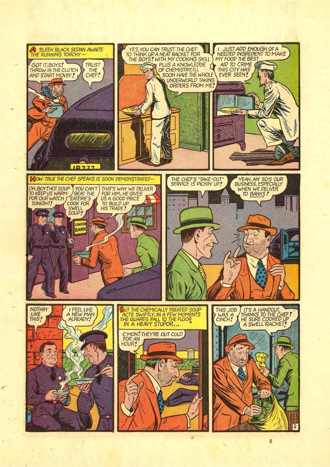 Read online Action Comics (1938) comic -  Issue #54 - 57