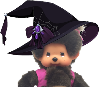 halloween chauve souris bat spider araignées hallowe'en peur clown attaque monchhichi kiki bebichhichi virkiki ajena bandai