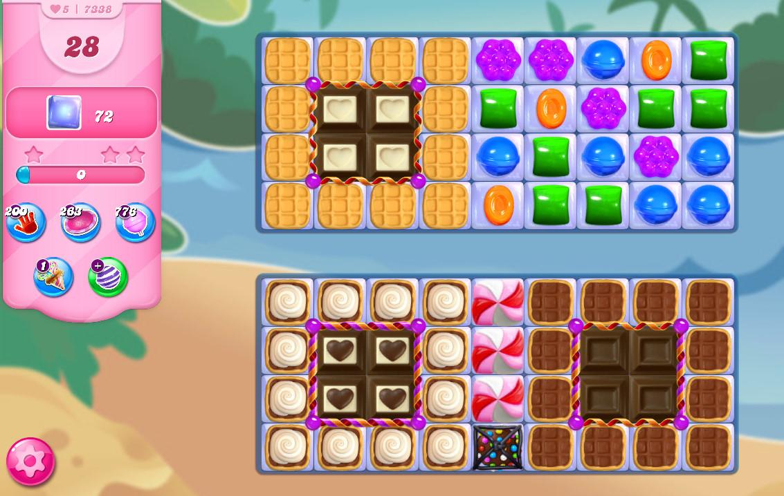 Candy Crush Saga level 7338