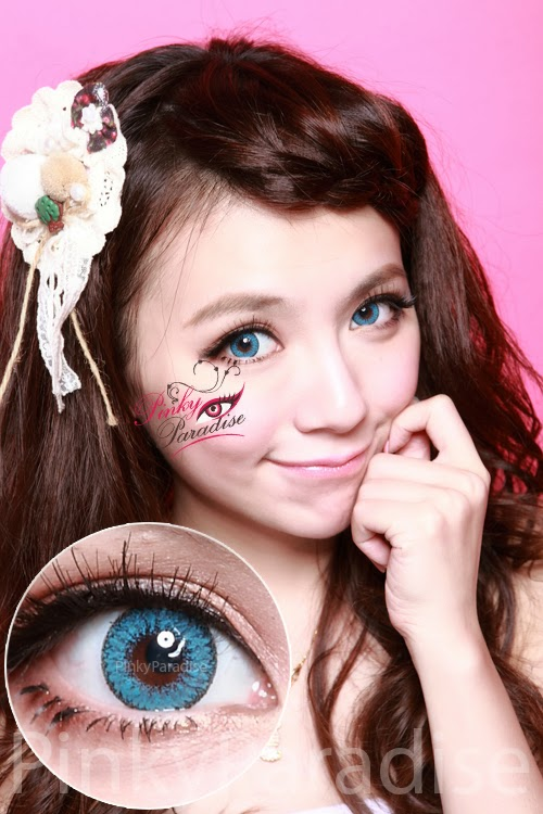 EOS Fairy Blue Circle Lenses (Colored Contacts)