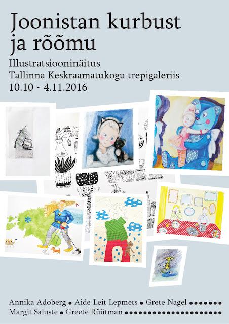 #Aide #Leit #näitus #illustratsioonid #tallinna #keskraamatukogu