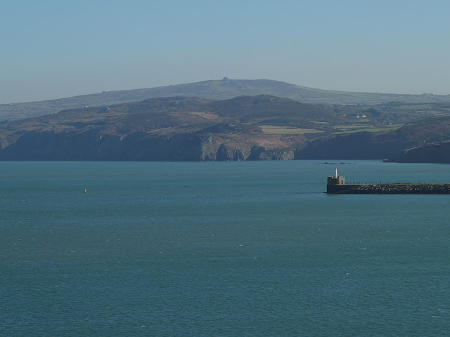 View across Fishguard Bay from Goodwick
