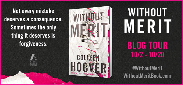 Book Review and GIVEAWAY: Without Merit, by Colleen Hoover