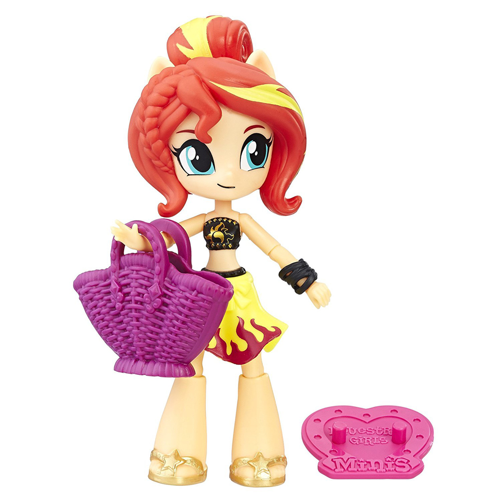 MLP Beach Collection Singles Equestria Girls Minis   MLP Merch My Little Pony Equestria Girls Minis Beach Collection Beach Collection  Singles Sunset Shimmer Figure