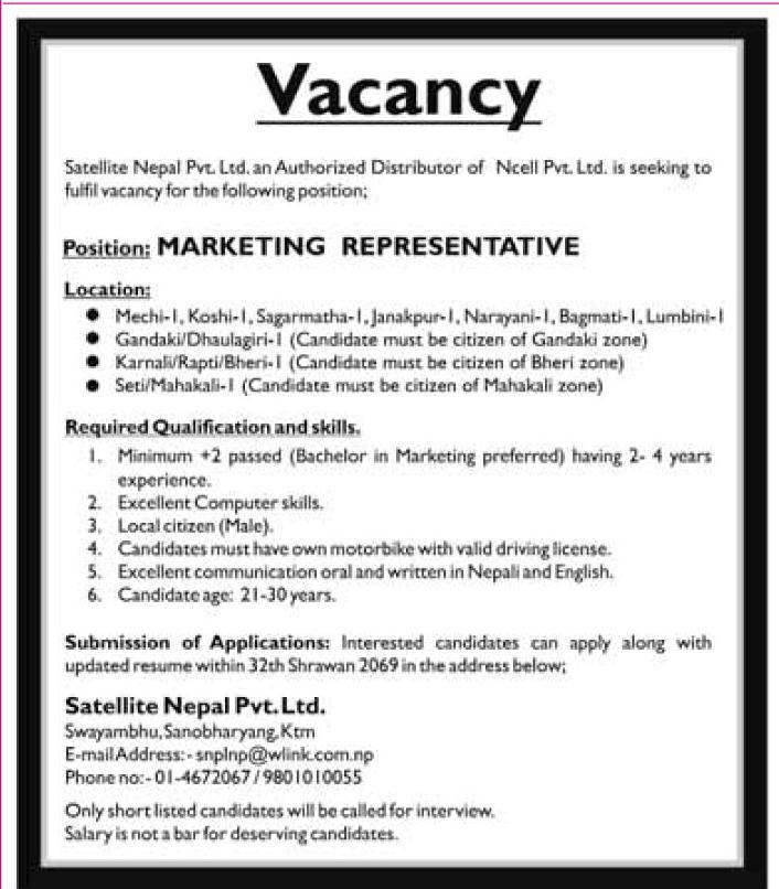 Job Application Resume Application Letter Interview Description