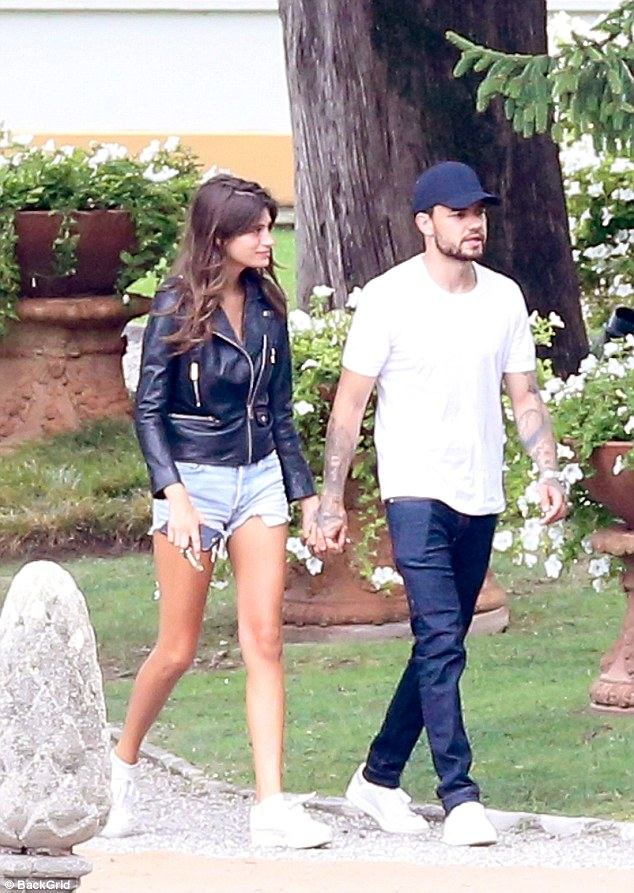 Liam Payne and model Cairo Dwek confirms romance as they passionately kiss in Italy