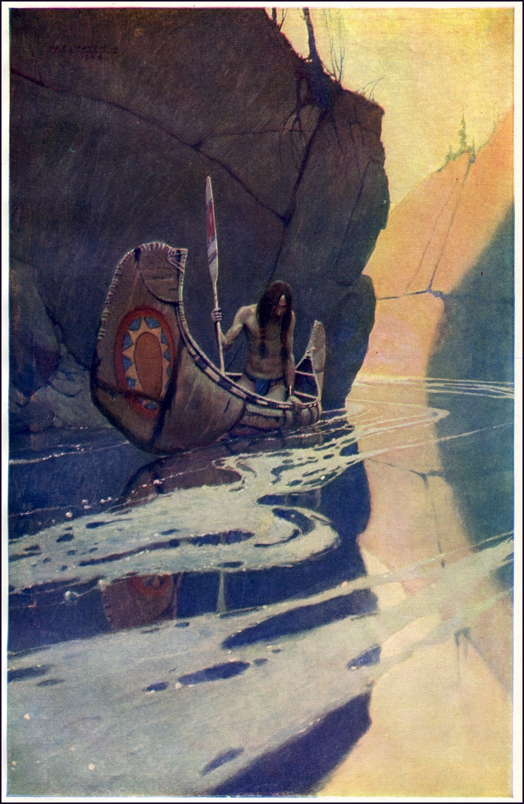NC Wyeth indian