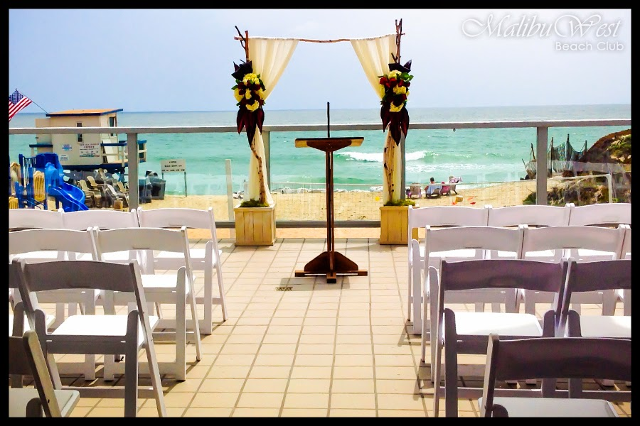 malibu beach wedding, wedding in Malibu, Beach weddings, Malibu West Beach Club