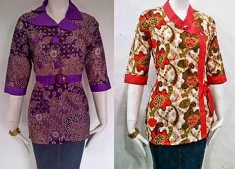 Model Model Baju Batik Dinas